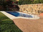 Small pool next to apartment, Calahonda, Mijas