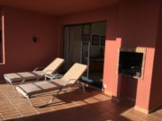 Sun lounges for relaxing, with sea view, Costa del Sol