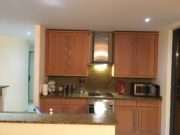 Kitchen with modern appliances, apartment to rent in Calahonda, Mijas